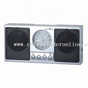 Alarm clock mp3 player from China