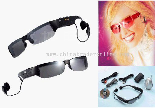 MP3 Sunglasses from China
