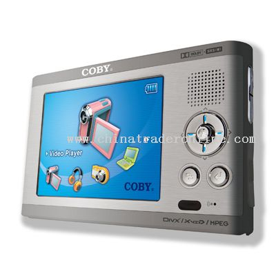 3.5 TFT PORTABLE MEDIA PLAYER with 20 GB HDD and TOUCH SCREEN