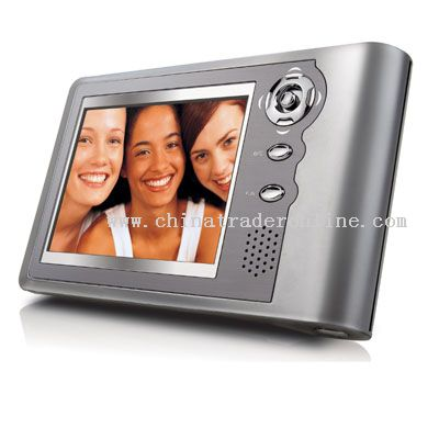 3.5 TFT PORTABLE MEDIA PLAYER with 20GB HARD DISK and VIDEO RECORDING