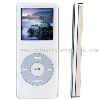 Aluminium Alloy MP4 Player With 9 Functions