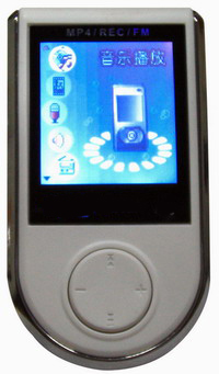 Flash MP4 Player from China