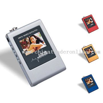 MP4 Players with FM Radio