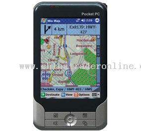 PDA with Wi-Fi Bluetooth & GPS Functionality