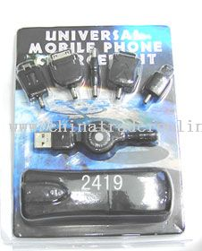 Dual-usage USB charger from China