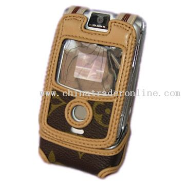 Flip Genuine Leather Phone Cas