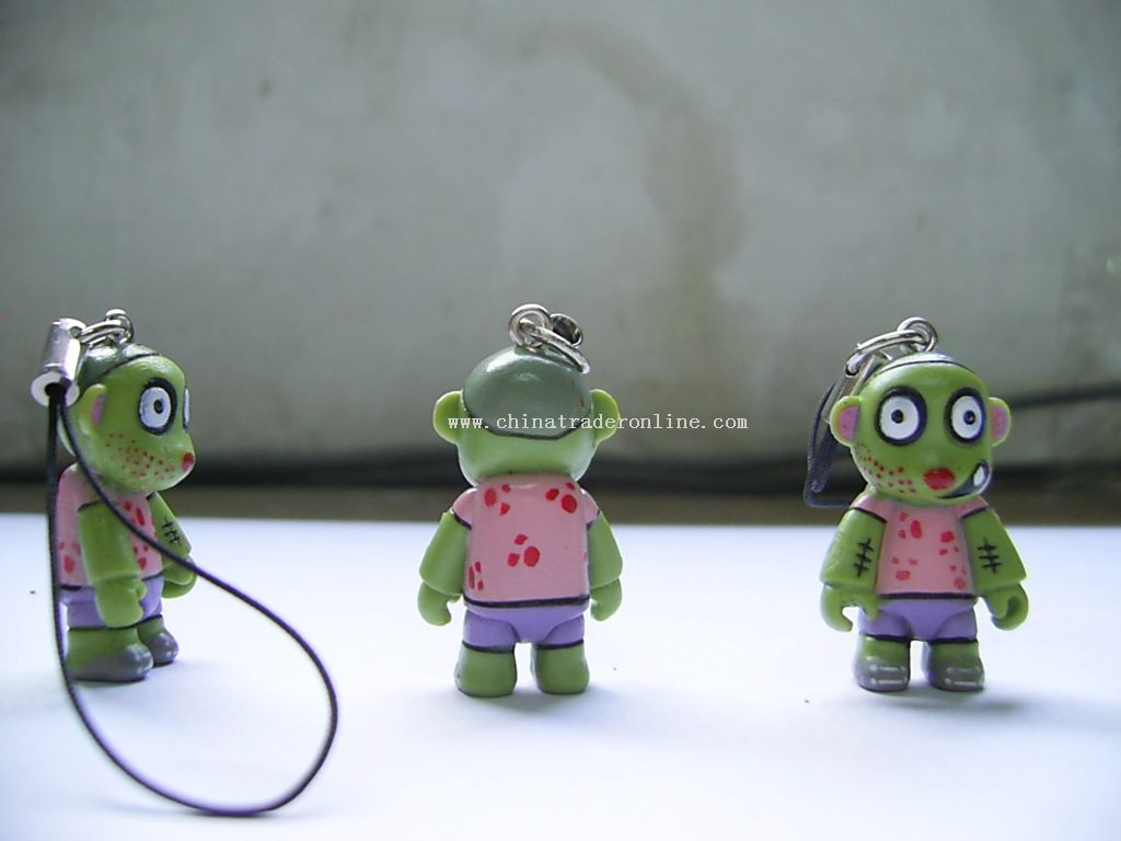 3D Childe Shaped Mobile Phone Strap