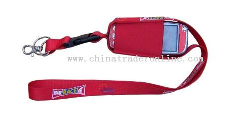 Mobile phone lanyard from China