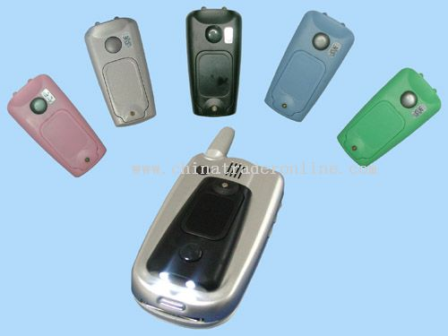 Mobile Torch with mobile sensor