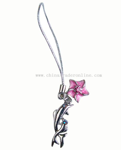 Mobile phone charm from China