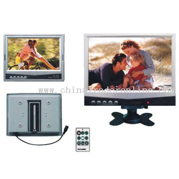 7-Inch Headrest or Desktop LCD Monitor