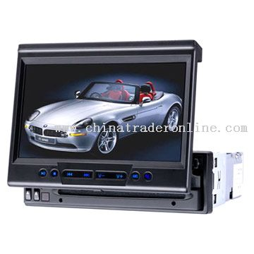 7inch Fully-Motorized In-Dash TFT LCD Monitor