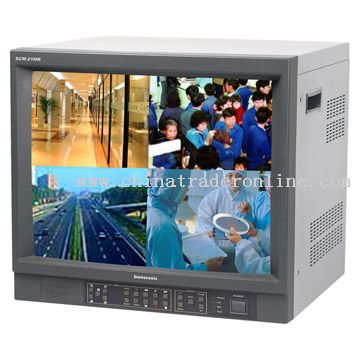 Built-In DVR Color Monitor