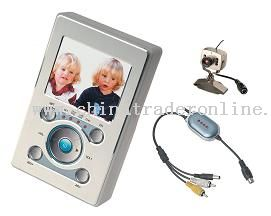 Wireless audio/video transmission monitor
