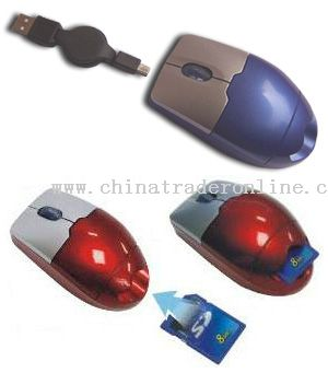 Card reader mouse