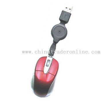 Mini Wired 3D Optical Mouse