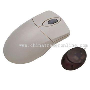 RF Wireless Scroll Wheel Mouse