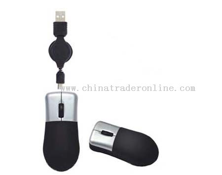 Mini Wired Optical Mouse with Zoom In and Out Func