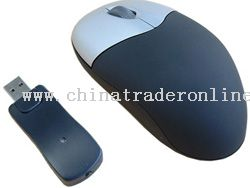 Wireless mini optical mouse