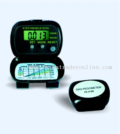 Folding Multifunction Pedometer