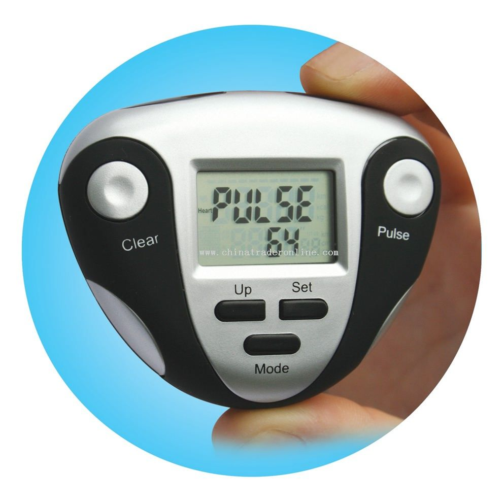 Pedometer With Heart Rate Meter