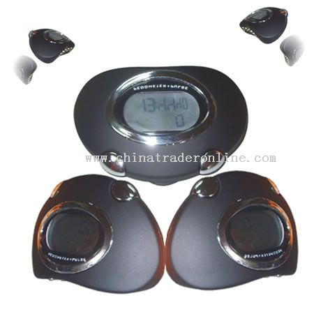 Pedometers with fat analzyer