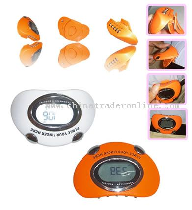 Pedometers with heart rate