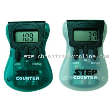 Multifunctional Pedometers