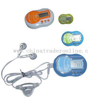 Calorie Pedometer with Radio