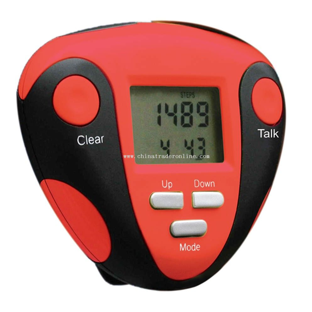 Talking Calorie Counting Pedometer