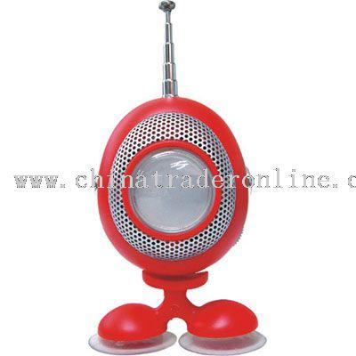 ROBOT RADIO WITH SPEAKER