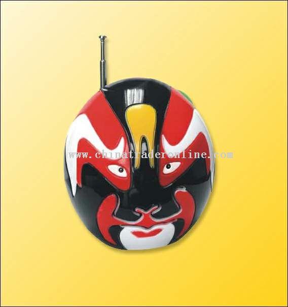 Chinese Peking face radio