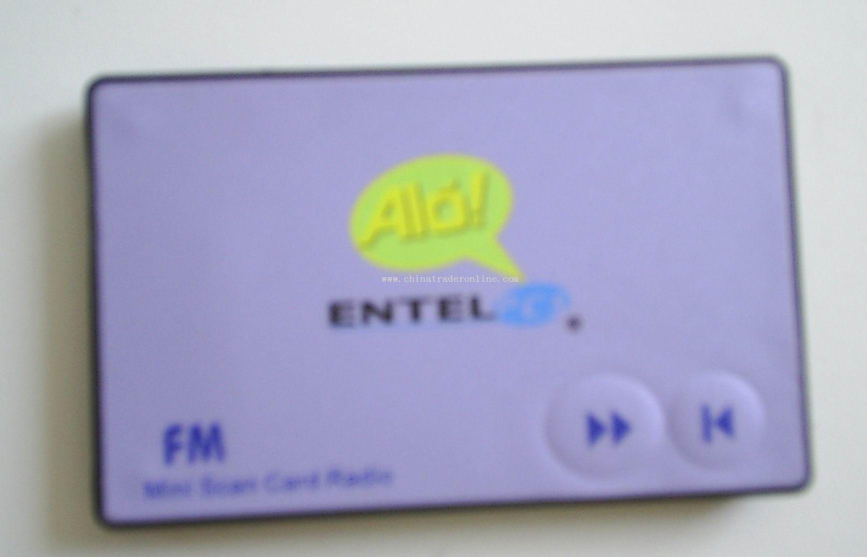 Card Radio