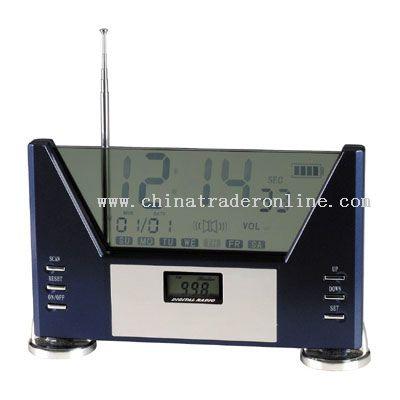 LCD Radio with Calendar