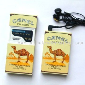 Cigarette Radio from China