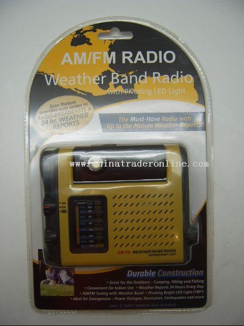 Weather Band Radio