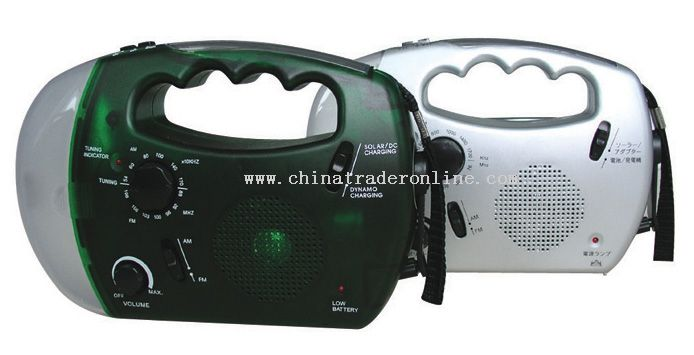 Multifunction Lantern with AM/FM Radio