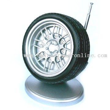 Wheel Radio