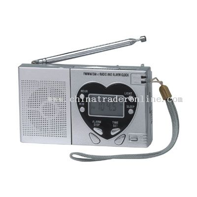 9 band digital display radio
