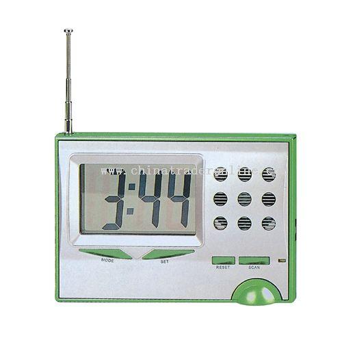 FM radio clock from China