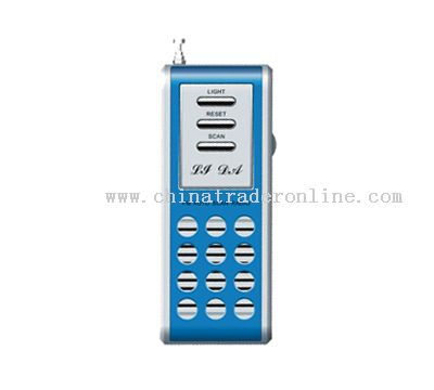 FM AUTO SCAN RADIO WITH TORCH AND SPEAKER
