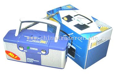 Mini Radio With Double Speaker