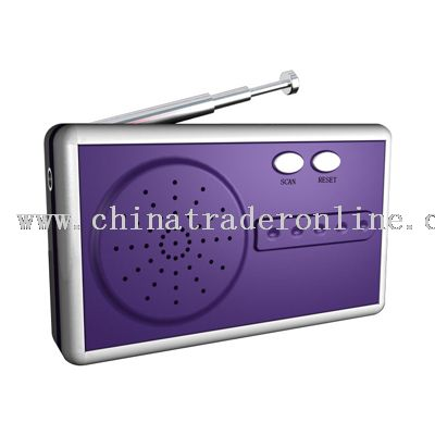 FM AUTO SCAN RADIO from China