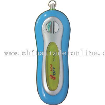 MP3 shape radio