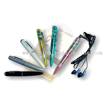 Plastic Radio Pen