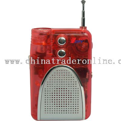 RADIO WITH LIGHT from China