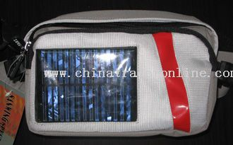 Solar charging  bag from China