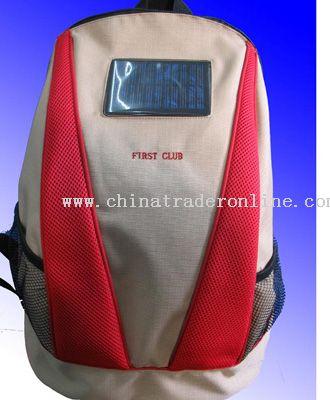 Solar charging  bag from China