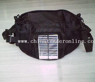 Solar charging  waist pack