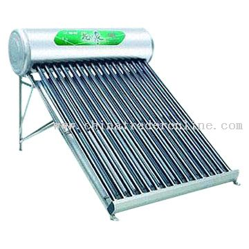 Stainless Steel Solar Water Heater with 55mm PU Foam